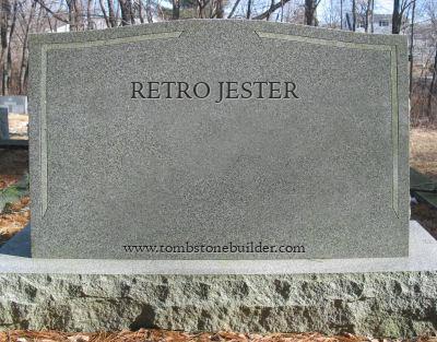 custom tombstone
